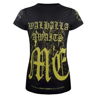 T-shirt pour femmes VICTORY OR VALHALLA - VALHALLA AWAITS, VICTORY OR VALHALLA