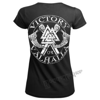 t-shirt pour femmes - VIKING SKULL - VICTORY OR VALHALLA, VICTORY OR VALHALLA