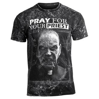 t-shirt hardcore pour hommes - PRAY FOR YOUR PRIEST - AMENOMEN, AMENOMEN