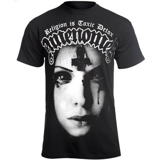 t-shirt hardcore pour hommes - RELIGION IS TOXIC DETOX - AMENOMEN, AMENOMEN