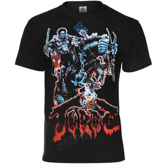 tee-shirt métal pour hommes Turbo - LAST WARRIOR - CARTON, CARTON, Turbo