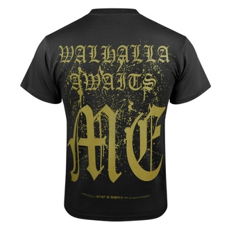 T-shirt pour hommes VICTORY OR VALHALLA - CROW SKULL, VICTORY OR VALHALLA