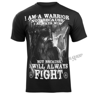 t-shirt pour hommes - I AM A WARRIOR - VICTORY OR VALHALLA, VICTORY OR VALHALLA