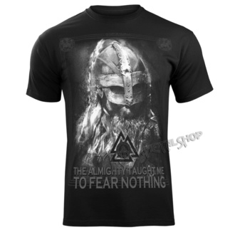 t-shirt pour hommes - THE ALMIGHTY TAUGHT ME TO FEAR NOTHING - VICTORY OR VALHALLA, VICTORY OR VALHALLA