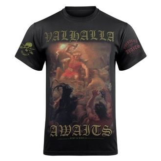 T-shirt pour hommes VICTORY OR VALHALLA - THOR'S FIGHT, VICTORY OR VALHALLA