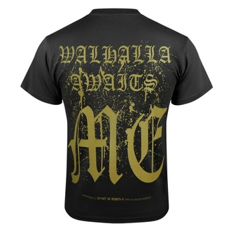 T-shirt pour hommes VICTORY OR VALHALLA - VALHALLA AWAITS, VICTORY OR VALHALLA