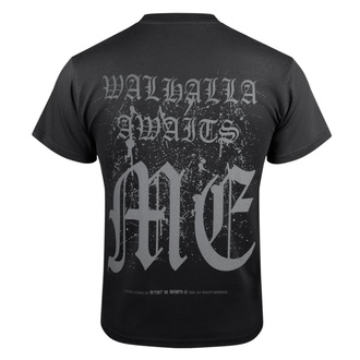 T-shirt pour hommes VICTORY OR VALHALLA - VIKING SHIELD, VICTORY OR VALHALLA