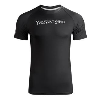 T-shirt pour homme (technique) HOLY BLVK - RASHGUARD - YVES SAINT SATAN, HOLY BLVK