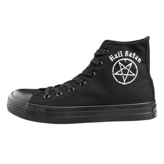 chaussures de tennis montantes unisexe - Hail Satan - AMENOMEN