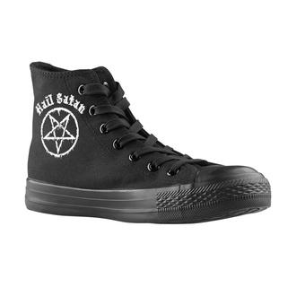 chaussures de tennis montantes unisexe - Hail Satan - AMENOMEN, AMENOMEN