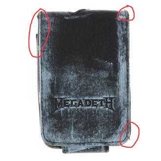 Housse MP3 joueur Megadeth - BIOWORLD - ENDOMMAGÉ, BIOWORLD, Megadeth