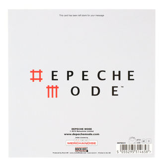 Carte de voeux Depeche Mode - ROCK OFF, ROCK OFF, Depeche Mode