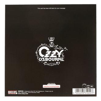 Carte de voeux Ozzy Osbourne - ROCK OFF, ROCK OFF, Ozzy Osbourne