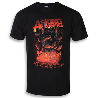 tee-shirt métal pour hommes Asking Alexandria - Metal Hand - ROCK OFF, ROCK OFF, Asking Alexandria