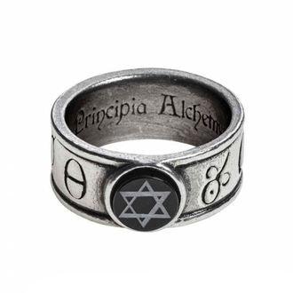 Bague ALCHEMY GOTHIC - Principia Alchemystica, ALCHEMY GOTHIC