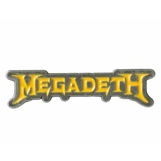 Pins MEGADETH - LOGO - RAZAMATAZ, RAZAMATAZ, Megadeth