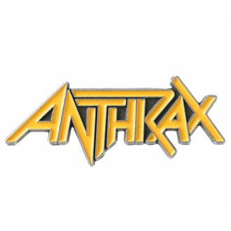 Pins ANTHRAX - LOGO - RAZAMATAZ, RAZAMATAZ, Anthrax