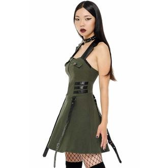Robe pour femmes KILLSTAR - Psy-Ops - KAKI, KILLSTAR