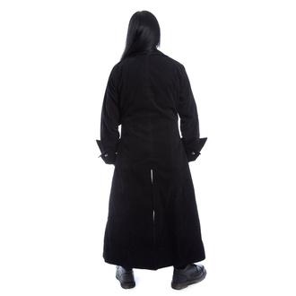 Manteau pour hommes POIZEN INDUSTRIES - QUENTIN - NOIR VELOURS, POIZEN INDUSTRIES