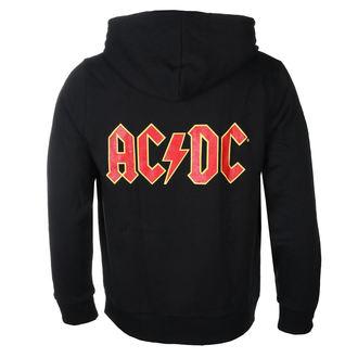 sweat-shirt avec capuche pour hommes AC-DC - Logo - ROCK OFF, ROCK OFF, AC-DC
