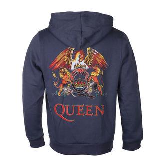 Sweat à capuche pour homme Queen - Classic Crest - ROCK OFF, ROCK OFF, Queen