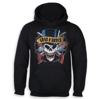 sweat-shirt avec capuche pour hommes Guns N' Roses - Top Hat - ROCK OFF, ROCK OFF, Guns N' Roses