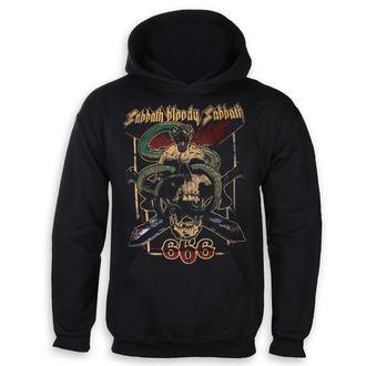 sweat-shirt avec capuche pour hommes Black Sabbath - Bloody Sabbath 666 - ROCK OFF, ROCK OFF, Black Sabbath