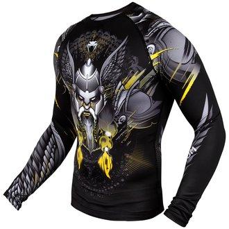 T-shirt thermo Venum - Viking 2.0 Rashguard - Noir / Jaune, VENUM