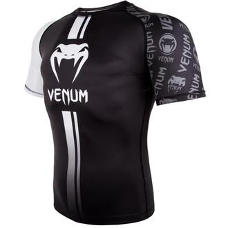 T-shirt thermo (rashguard) Venum - Logos Rashguard - Noir / blanc, VENUM
