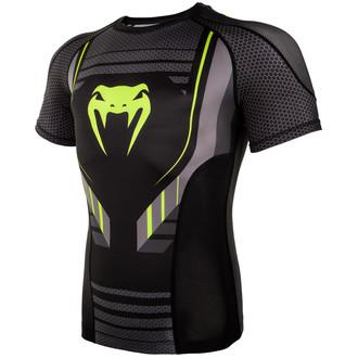 T-shirt thermo Venum - Technical 2.0 Rashguard - Noir / Jaune, VENUM