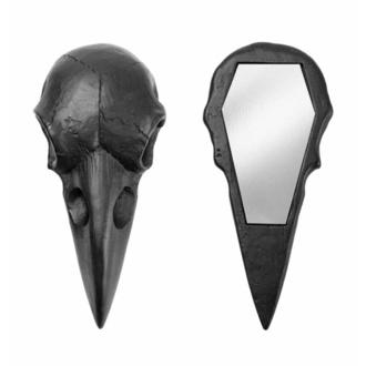 Décoration (miroir) ALCHEMY GOTHIC - Raven Skull - Noir, ALCHEMY GOTHIC