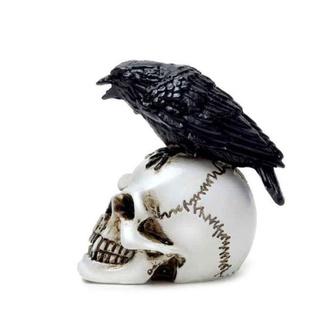 Décoration ALCHEMY GOTHIC - Raven Skull, ALCHEMY GOTHIC