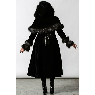 manteau femme KILLSTAR - Ravens Caped - Noir, KILLSTAR