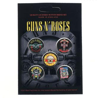 Badges Guns N' Roses - Bullet Logo - RAZAMATAZ, RAZAMATAZ, Guns N' Roses