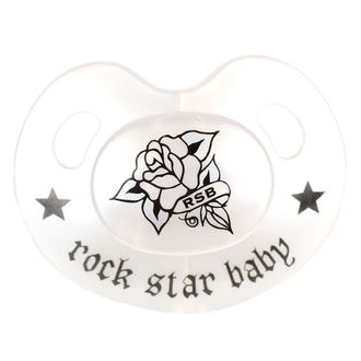 Tétine ROCK STAR BABY - Rose, ROCK STAR BABY