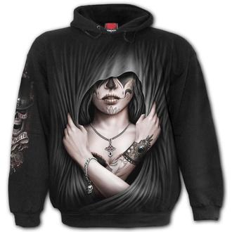 sweat-shirt avec capuche pour hommes - DEAD LOVE - SPIRAL, SPIRAL