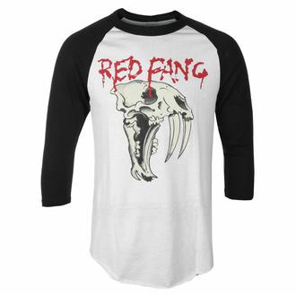 T-shirt à manches 3/4 pour hommes Red Fang - Fang - blanc - INDIEMERCH, INDIEMERCH, Red Fang