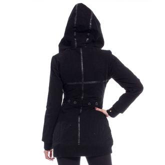 veste pour femmes (veste) POIZEN INDUSTRIES - REAVER - NOIR - ENDOMMAGÉ, POIZEN INDUSTRIES