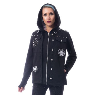 Veste femmes Heartless - REBEL WEDNESDAY - BLACK, HEARTLESS