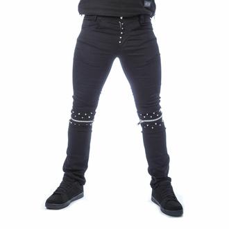 Pantalon pour hommes VIXXSIN - REHAN - NOIR, VIXXSIN