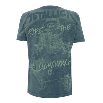 tee-shirt métal pour hommes Metallica - Ride The Lightening A/O -, Metallica