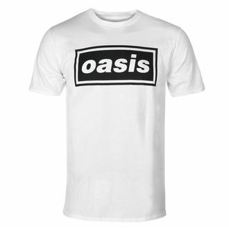 t-shirt pour homme Oasis - Logo Decca - blanc - RTOASTSWDEC