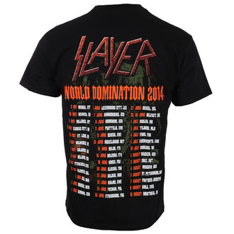 tee-shirt métal pour hommes Slayer - SOLDIER CROSS 2014 DATEBACK - ROCK OFF, ROCK OFF, Slayer