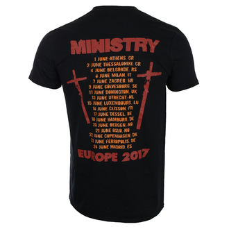 tee-shirt métal pour hommes Ministry - Hot Rod - ROCK OFF, ROCK OFF, Ministry