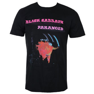 tee-shirt métal pour hommes Black Sabbath - Paranoid Motion Trails - ROCK OFF, ROCK OFF, Black Sabbath