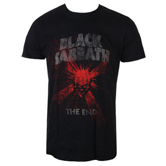tee-shirt métal pour hommes Black Sabbath - The End Skull Shine - ROCK OFF, ROCK OFF, Black Sabbath
