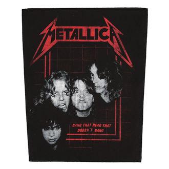 Grand Patch METALLICA - BANG THAT HEAD - RAZAMATAZ, RAZAMATAZ, Metallica