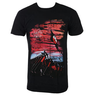 tee-shirt métal pour hommes Pink Floyd - The Wall Flag & Hammers - ROCK OFF, ROCK OFF, Pink Floyd
