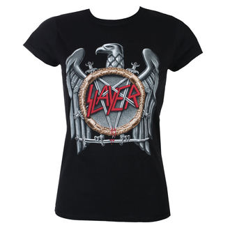 tee-shirt métal pour femmes Slayer - Silver Eagle - ROCK OFF, ROCK OFF, Slayer