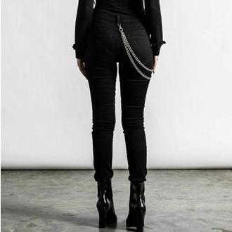 Pantalon pour femmes KILLSTAR - R.I.P Slash - Noir, KILLSTAR